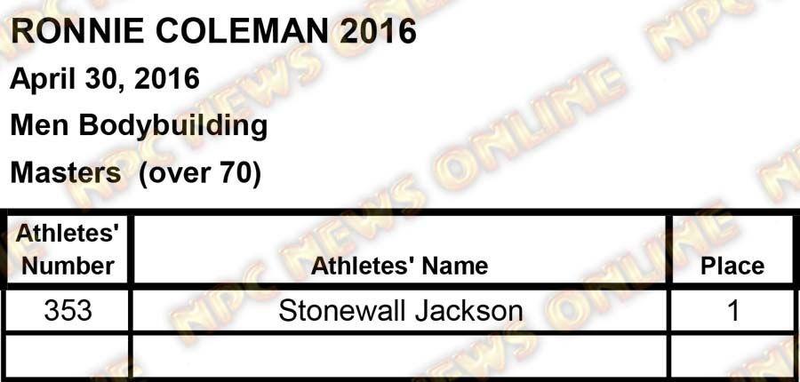ronnie coleman scores2 8