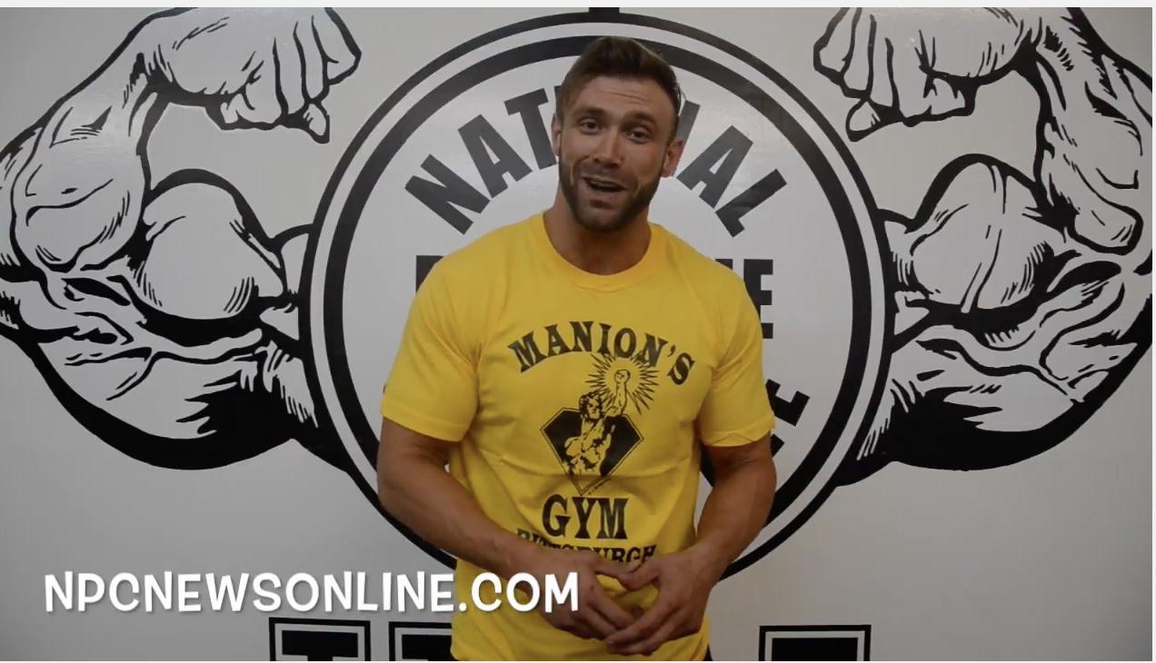 Men's Physique Competitor Dennis Jackson Training Tip.
