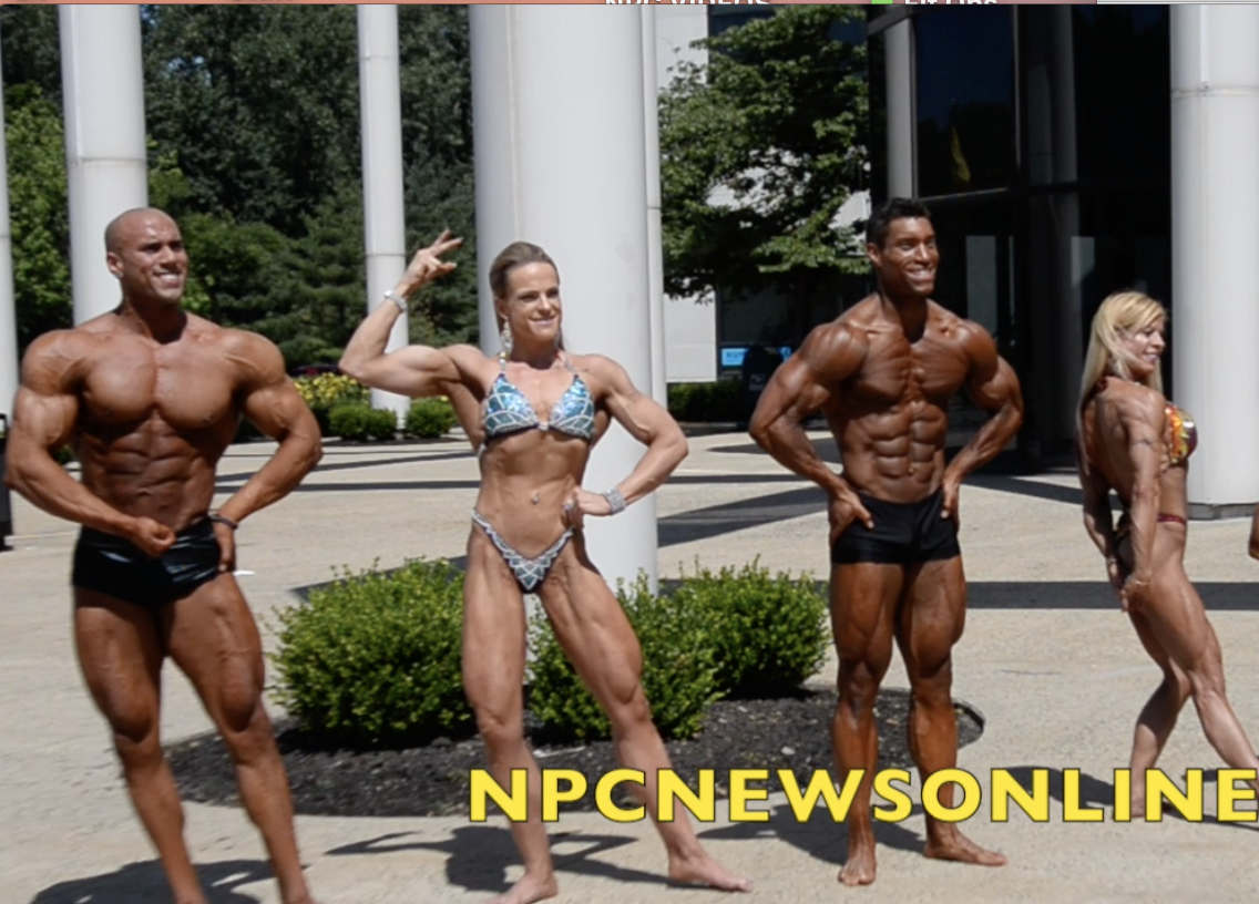2017 NPC Universe J.M. Manion Sunday Winners Shoot: Men's Classic & Women's Physique