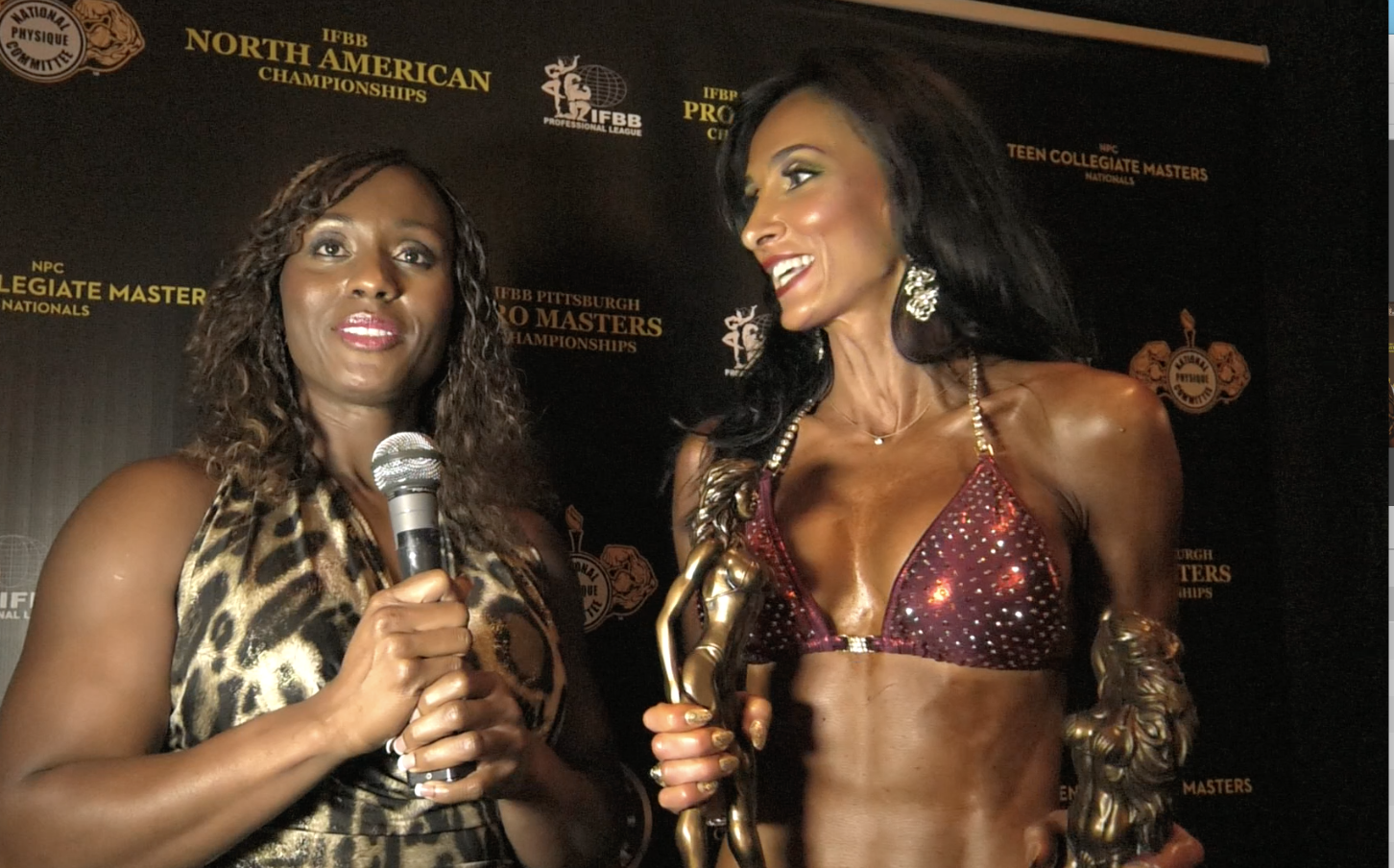 2017 NPC Teen, Collegiate & Masters Nationals Bikini Overall Winners: 6 Videos