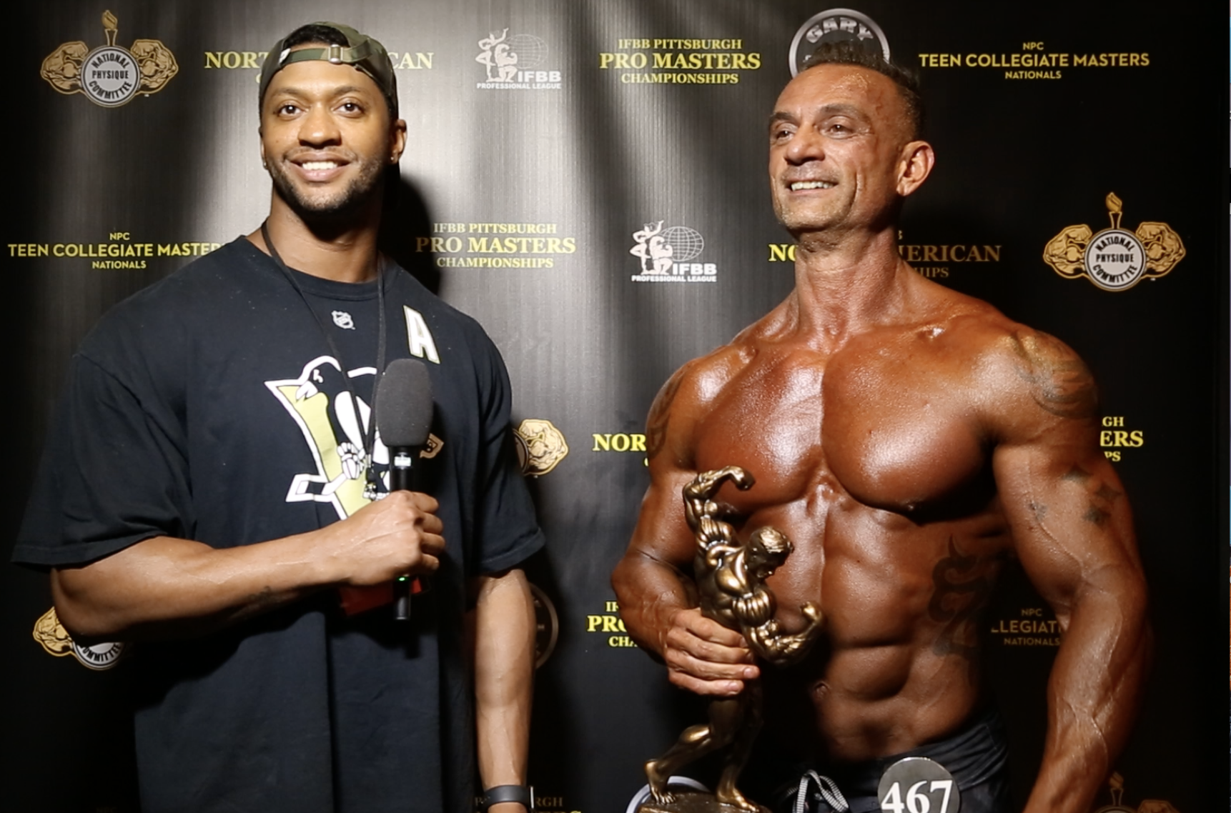 2017 NPC Teen, Collegiate, Masters Nationals Men's Physique Overall Winners