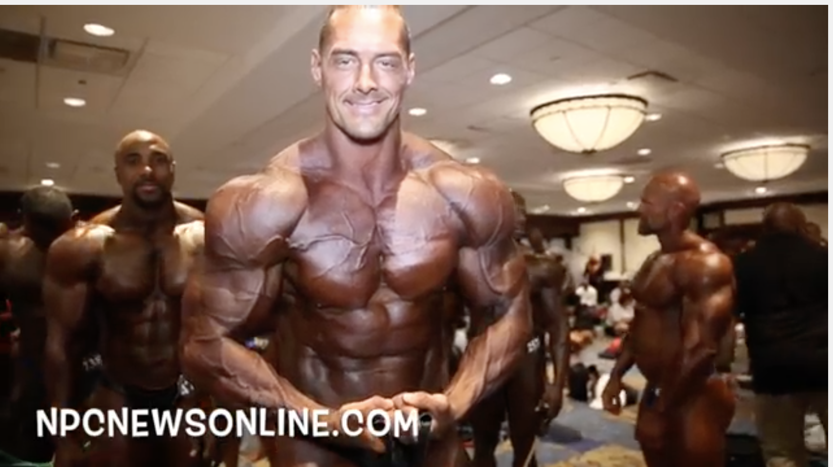 2017 NPC Teen, Collegiate Masters Nationals Bodybuilding Backstage Video.