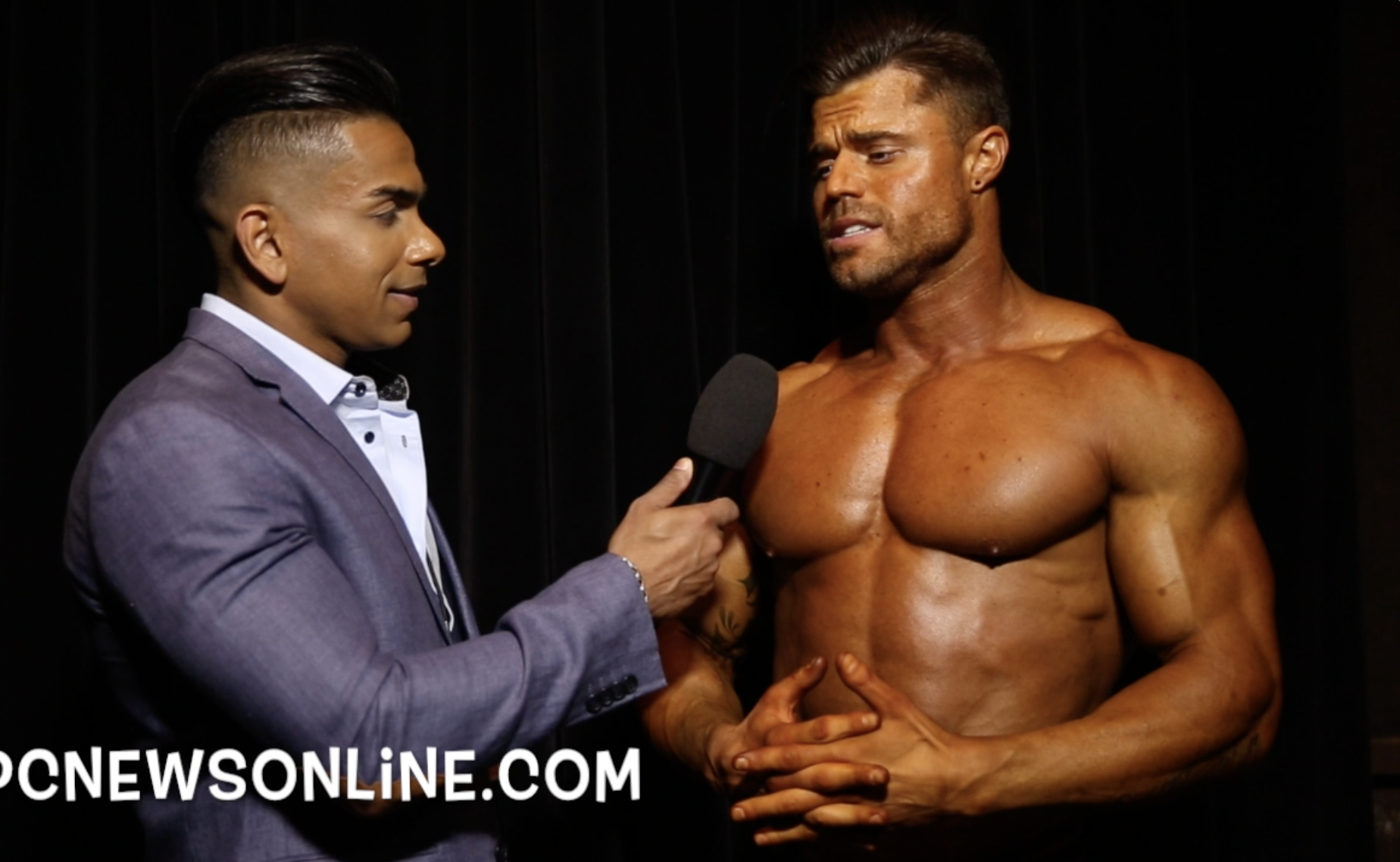 2017 NPC USA Classic Physique Overall Winner Jake Keidel Interviewed By IFBB Pro Freddy Mac