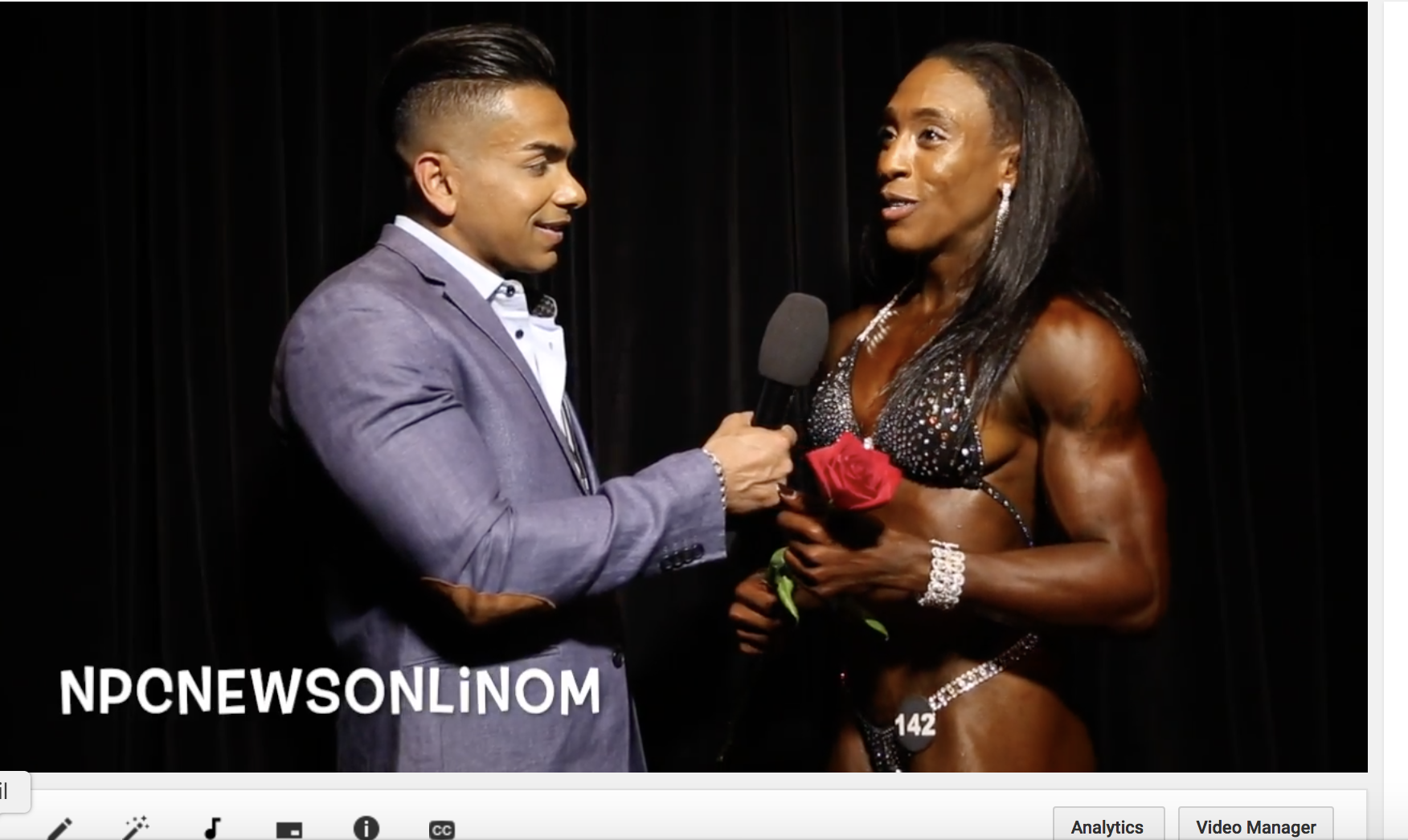 2017 NPC USA Women's Physique Overall Winner Courtney Rheams Interviewed By IFBB Pro Freddy Mac