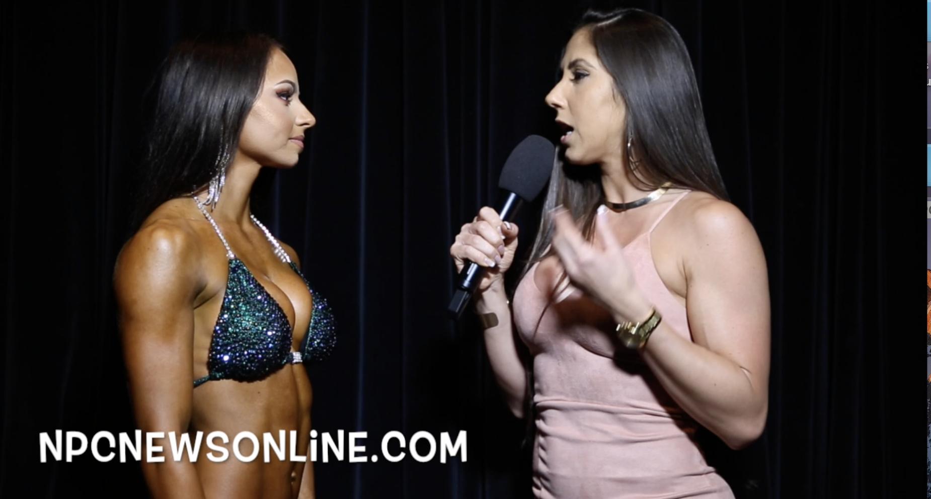 2017 NPC USA Bikini Overall Winner Danielle Phelps Interviewed By IFBB Bikini Pro Angelica Teixeira