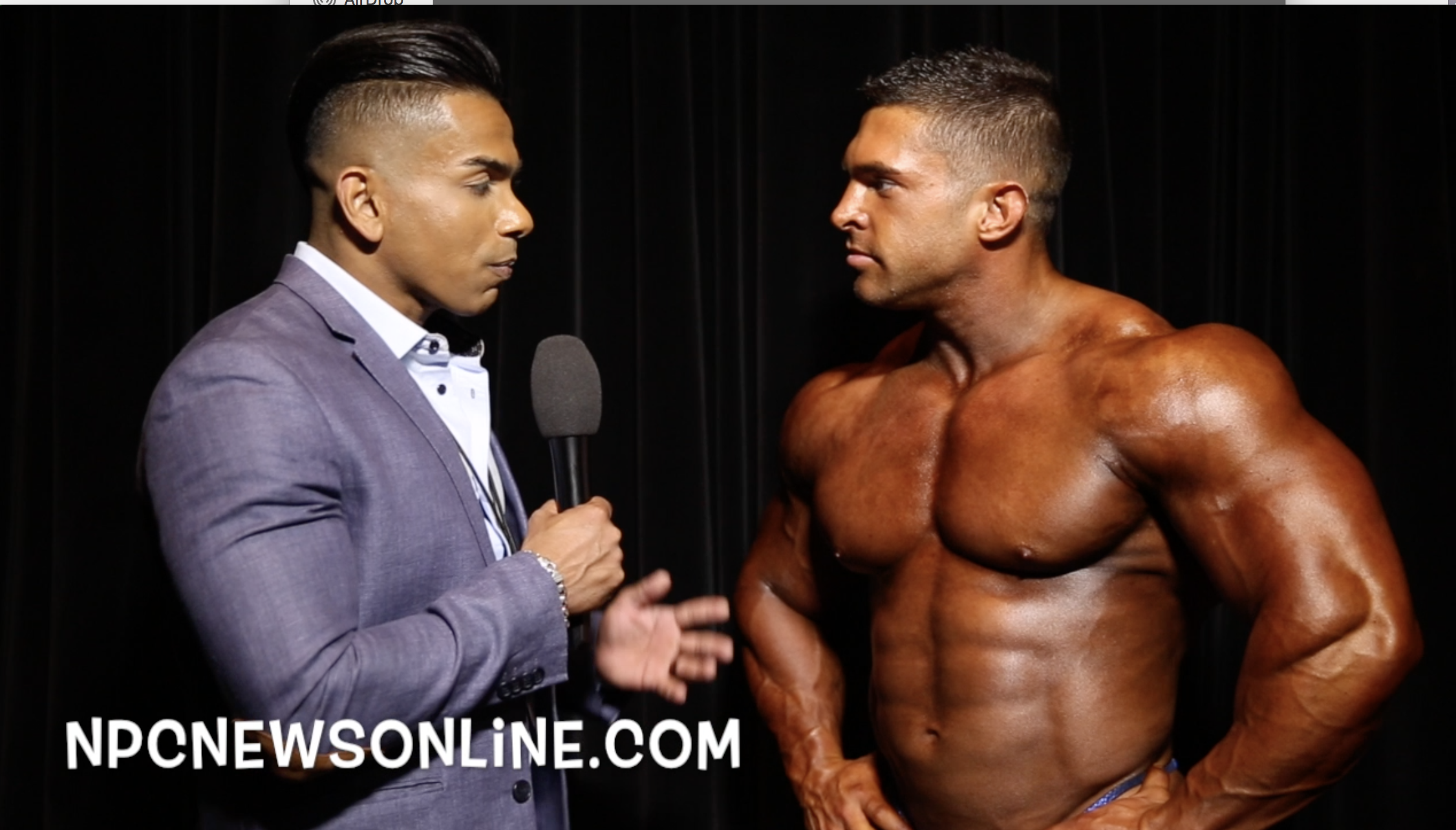 2017 NPC USA Bodybuilding Overall Winner Derek Lunsford Interviewed By IFBB Pro Freddy Mac
