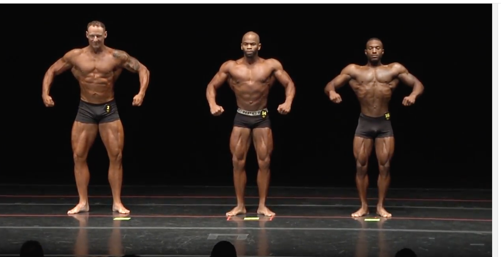 2017 NPC Tennessee State Men's Classic Physique Overall Video