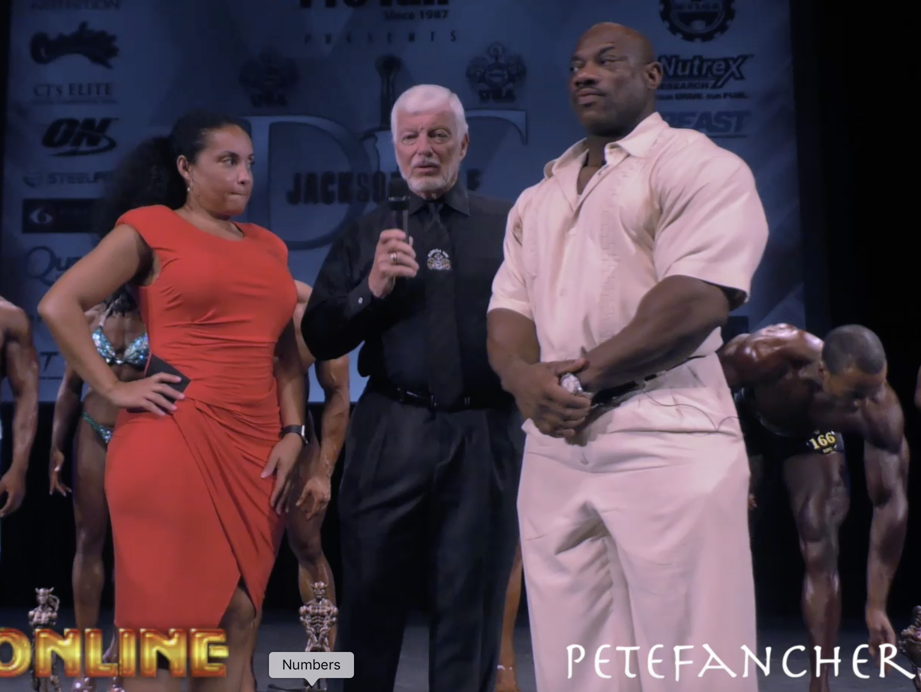 IFBB Pro Dexter Jackson & Gale Elie Interviewed By NPC District Chairman Pete Fancher At The 2017 NPC Dexter Jackson Classic