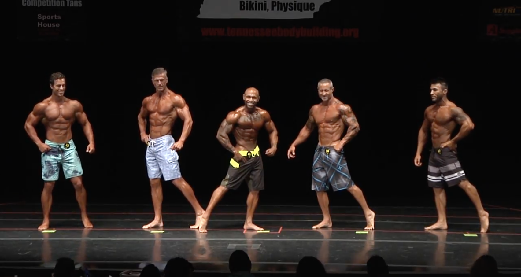 2017 NPC Tennessee State Men's Physique Overall video