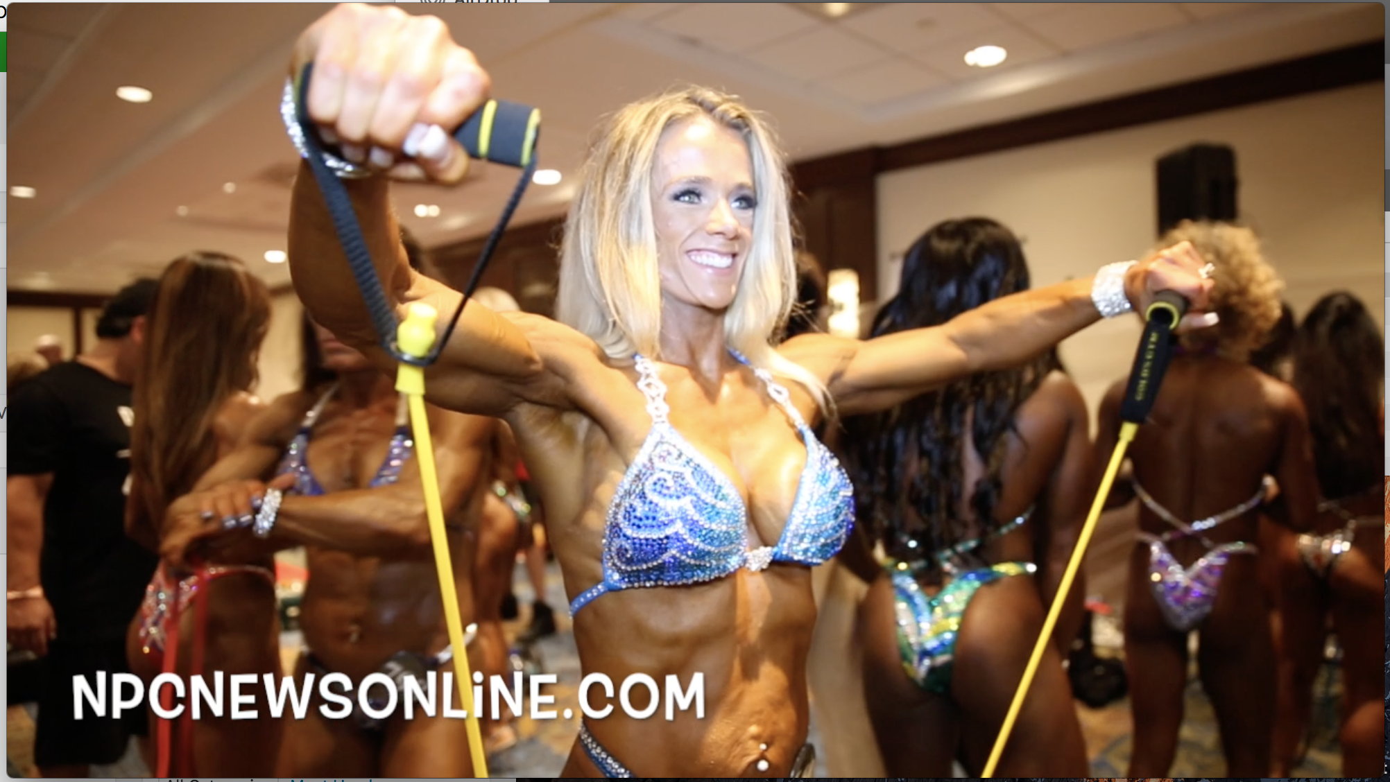 2017 NPC Teen, Collegiate, Masters Nationals Masters Women's Figure Backstage Video.