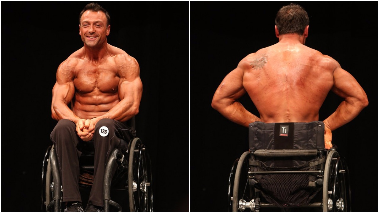 Special Thanks To IFBB Wheelchair Pro Steve Lister