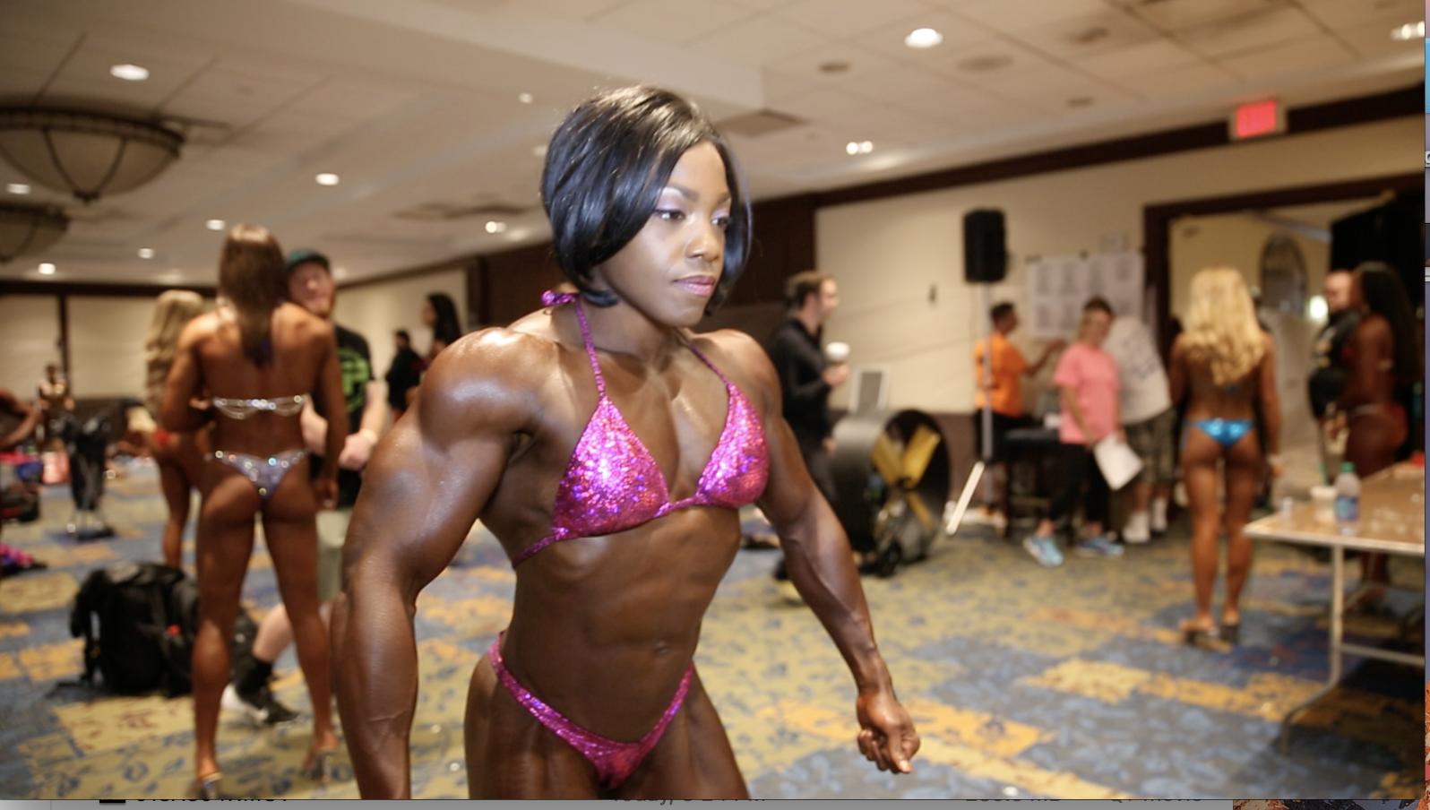 2017 NPC Teen, Collegiate & Masters Nationals Women's Bodybuilding Backstage Video