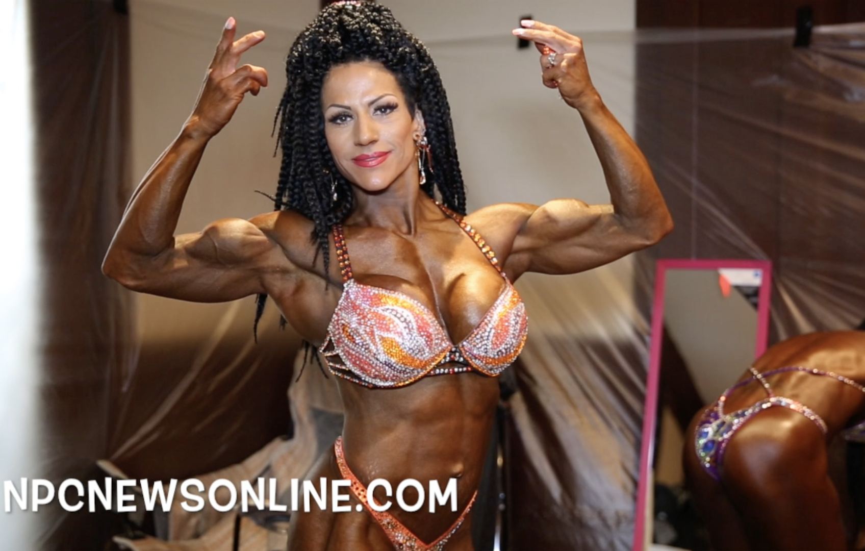2017 NPC Teen, Collegiate, Masters Nationals Masters Women's Physique Backstage Video