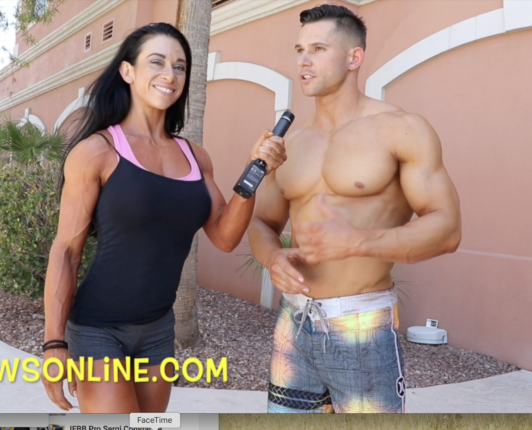 2017 NPC USA Men's  Physique Class B Winner Nick Bowerman Video Interview