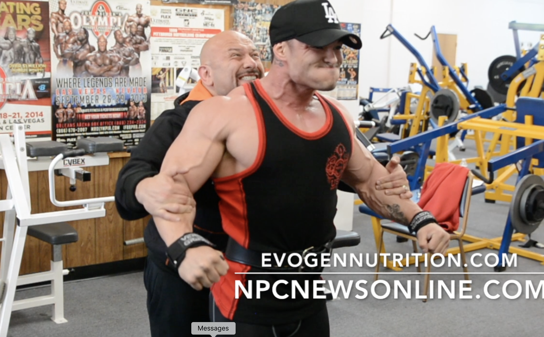 3x Physique Olympia Champ Jeremy Buendia Shoulder Workout With Hany Rambod