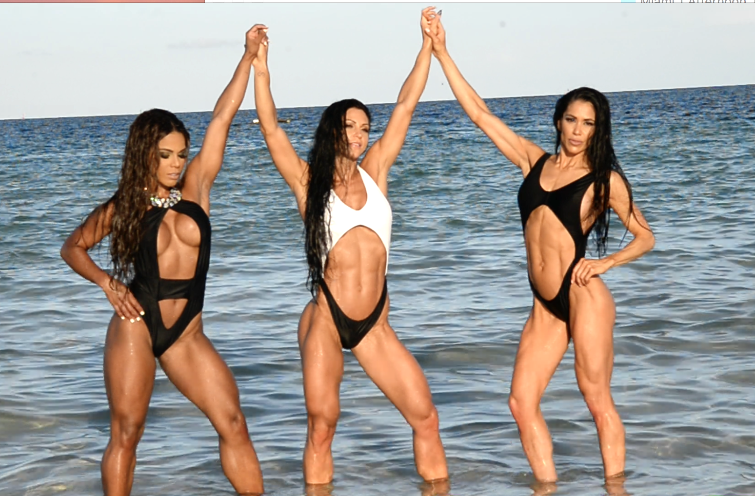 2017 J.M. Manion South Beach, Miami Shoot Video: IFBB Bikini Pro's Anita Herbert, Yarishna Ayala, Jen Ronzitti