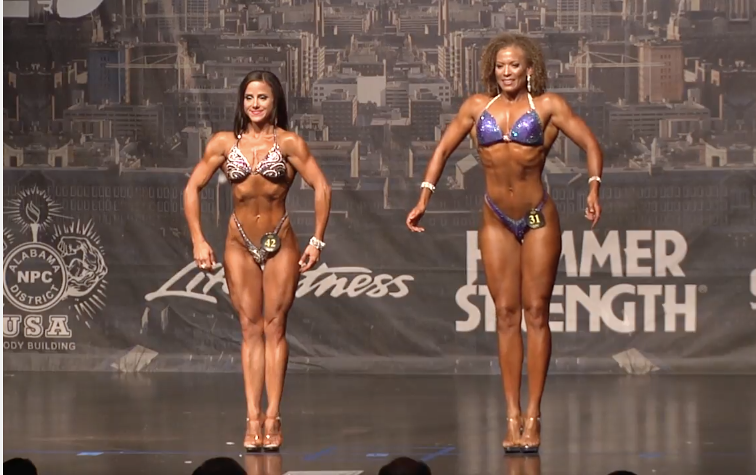2017 NPC Alabama State Figure Overall Video