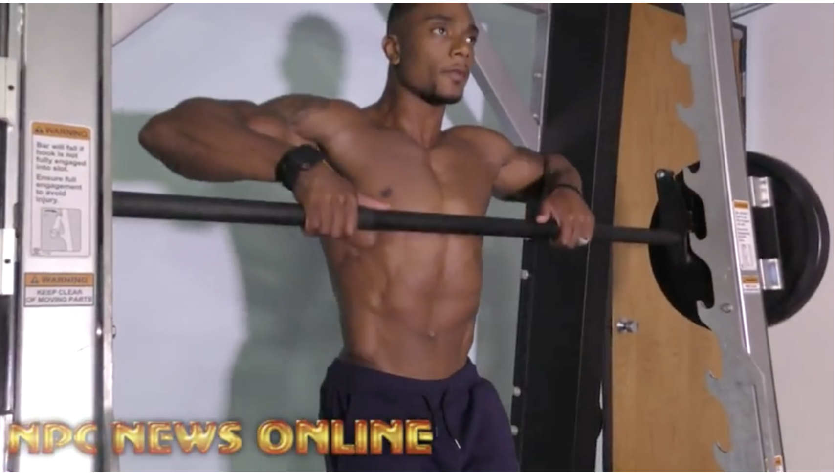 2017 NPC Florida State Men's Physique Champion Lameen Schand Shares Some Of His Techniques Working With BPhysique in Orlando, Florida