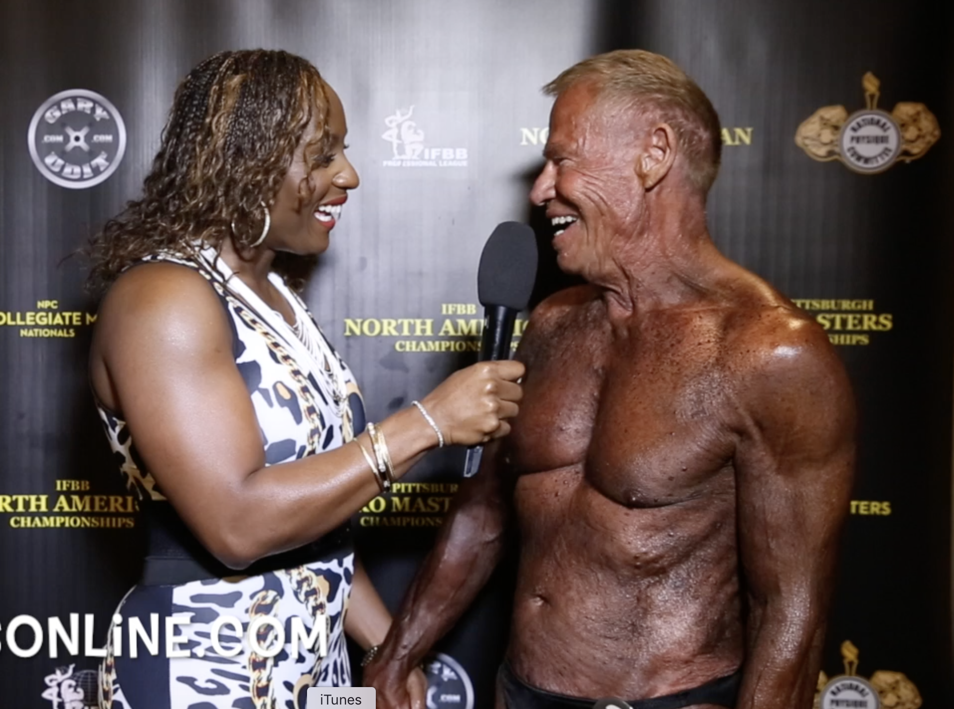 2017 IFBB PITTSBURGH PRO MASTERS BODYBUILDING WINNER INTERVIEWS: OVER 40,50,60,70 & 80!