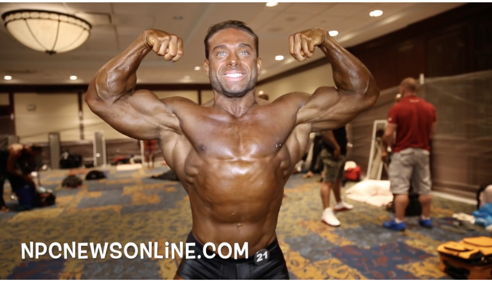 2017 IFBB PITTSBURGH MASTERS PRO MEN'S CLASSIC PHYSIQUE BACKSTAGE VIDEO
