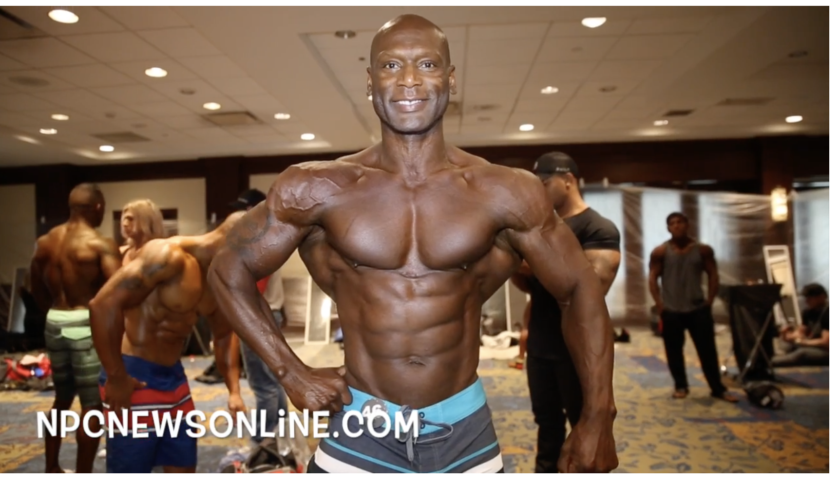 2017 IFBB PITTSBURGH PRO MASTERS MEN'S PHYSIQUE BACKSTAGE VIDEO