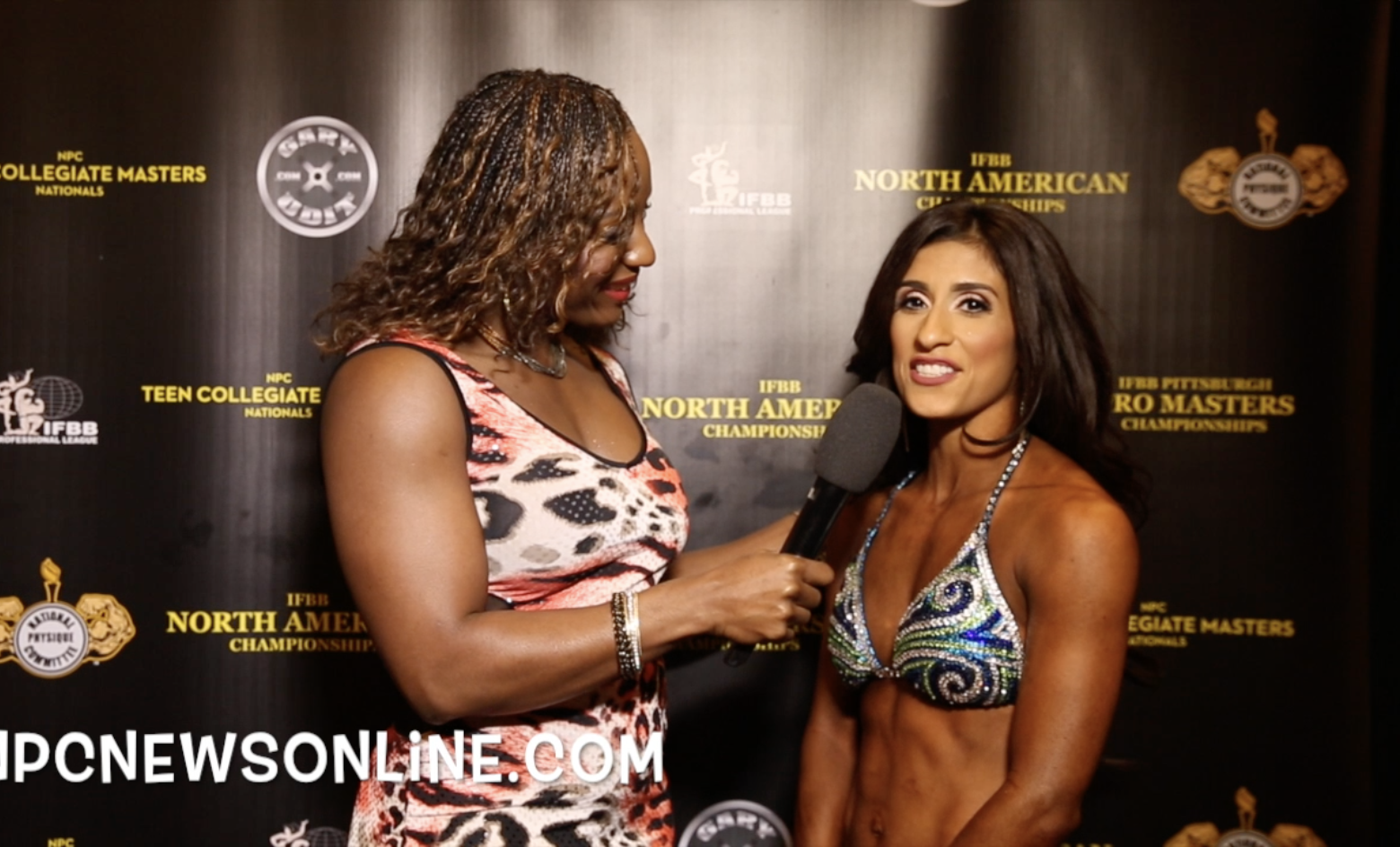 2017 IFBB North American Championships Women's Fitness Open Overall Winner Carolina Frausto Interview