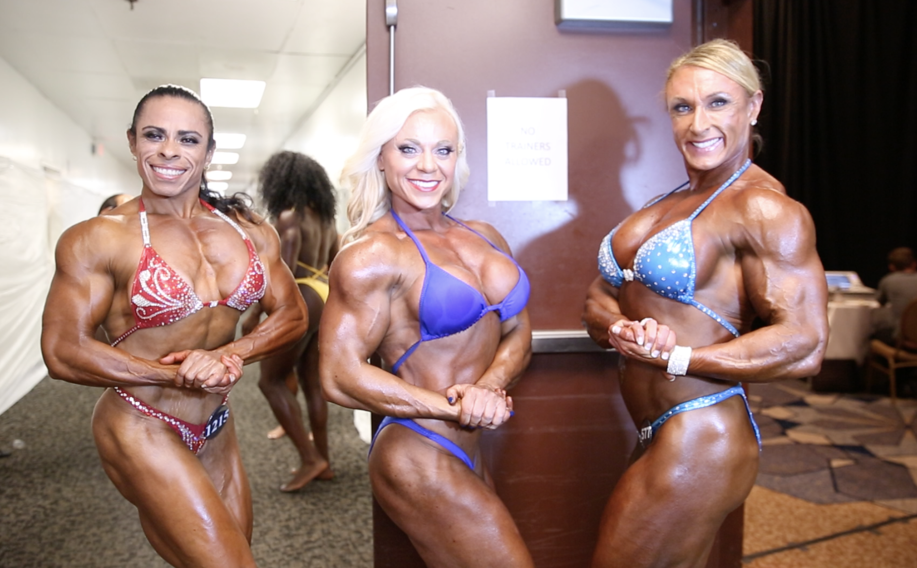 2017 IFBB North American Open Women's Physique Backstage Video