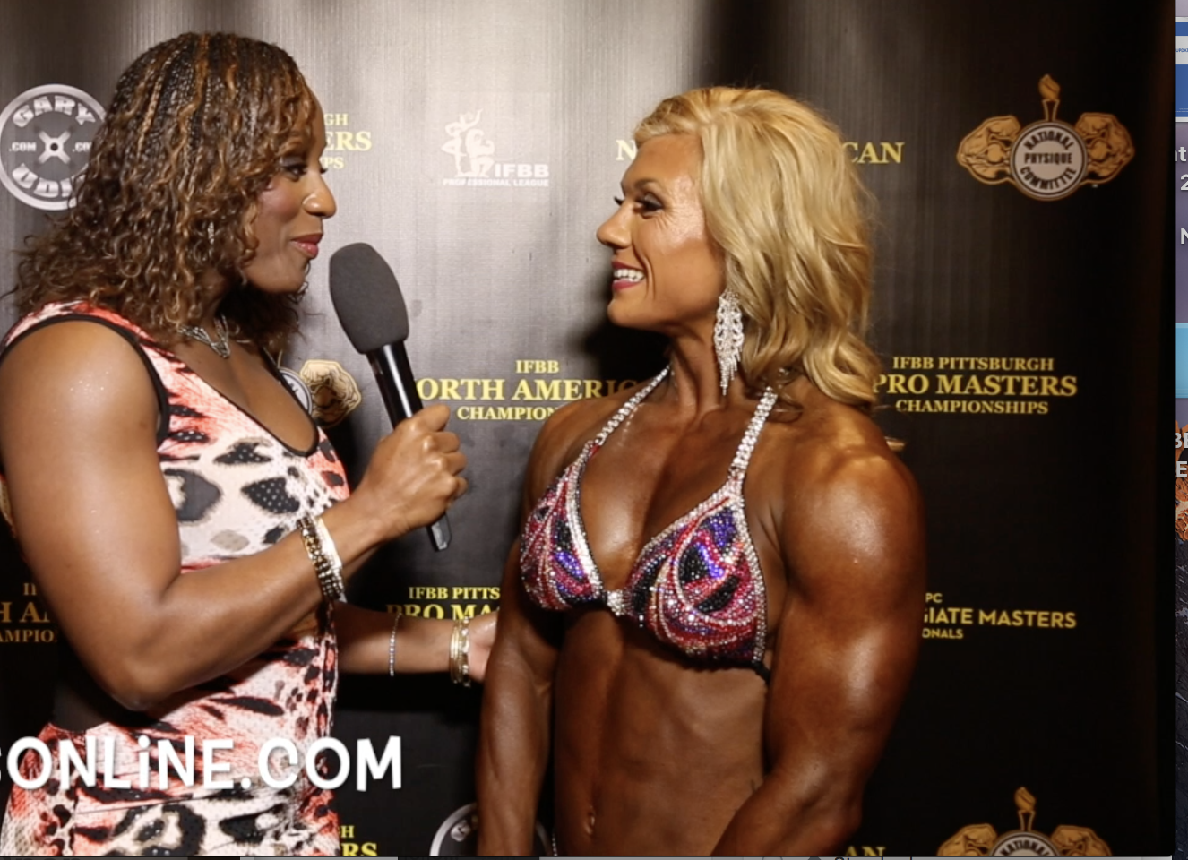 2017 IFBB NORTH AMERICAN CHAMPIONSHIPS WOMEN'S PHYSIQUE WINNERS: Open Overall, Over 35 & 40