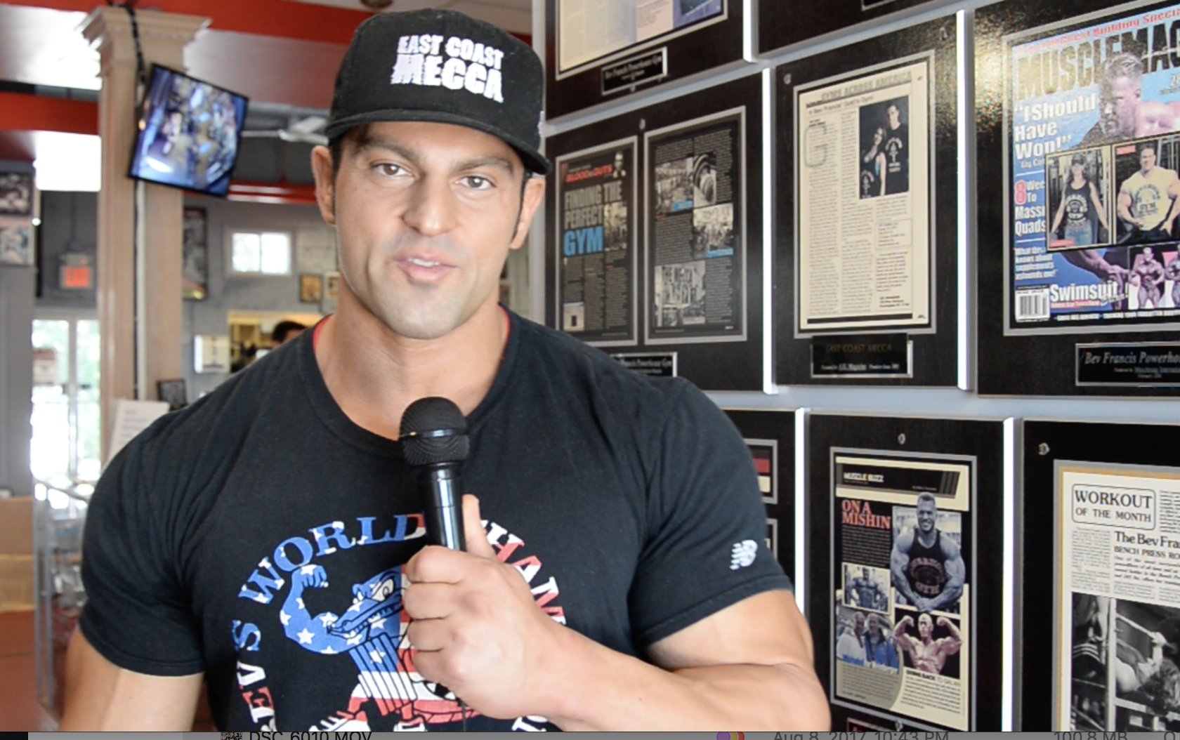 IFBB Men's Classic Physique Pro Arash Rahbar Training Tips For NPC Classic Competitors.