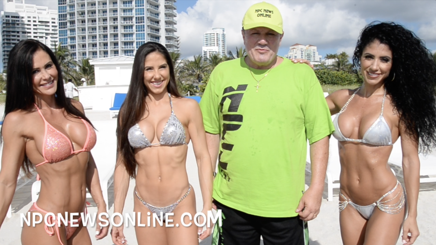 J.M. Manion South Beach Miami Shoot Video With IFBB Bikini Pro's Michelle Sylvia, Catherine Radulic and Angelica Teixeira.