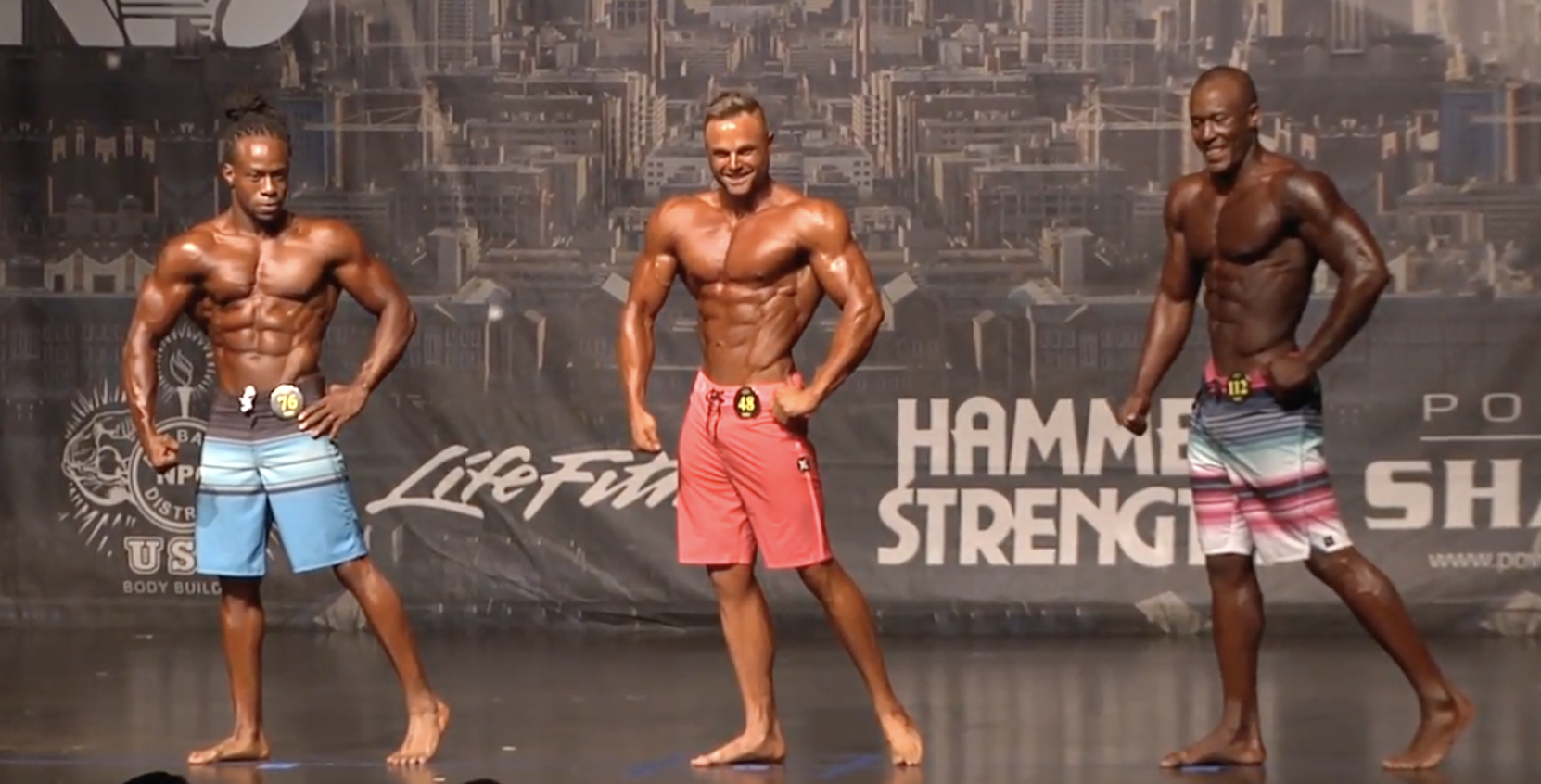 2017 NPC Alabama State Men's Physique Overall Video