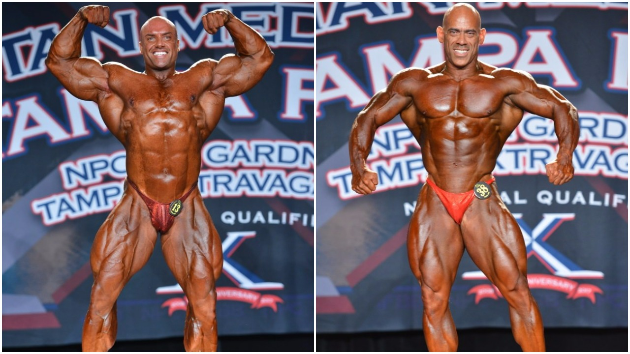 2017 IFBB TAMPA PRO SATURDAY'S MEN'S WINNER PHOTO GALLERY & OFFICIAL SCORES