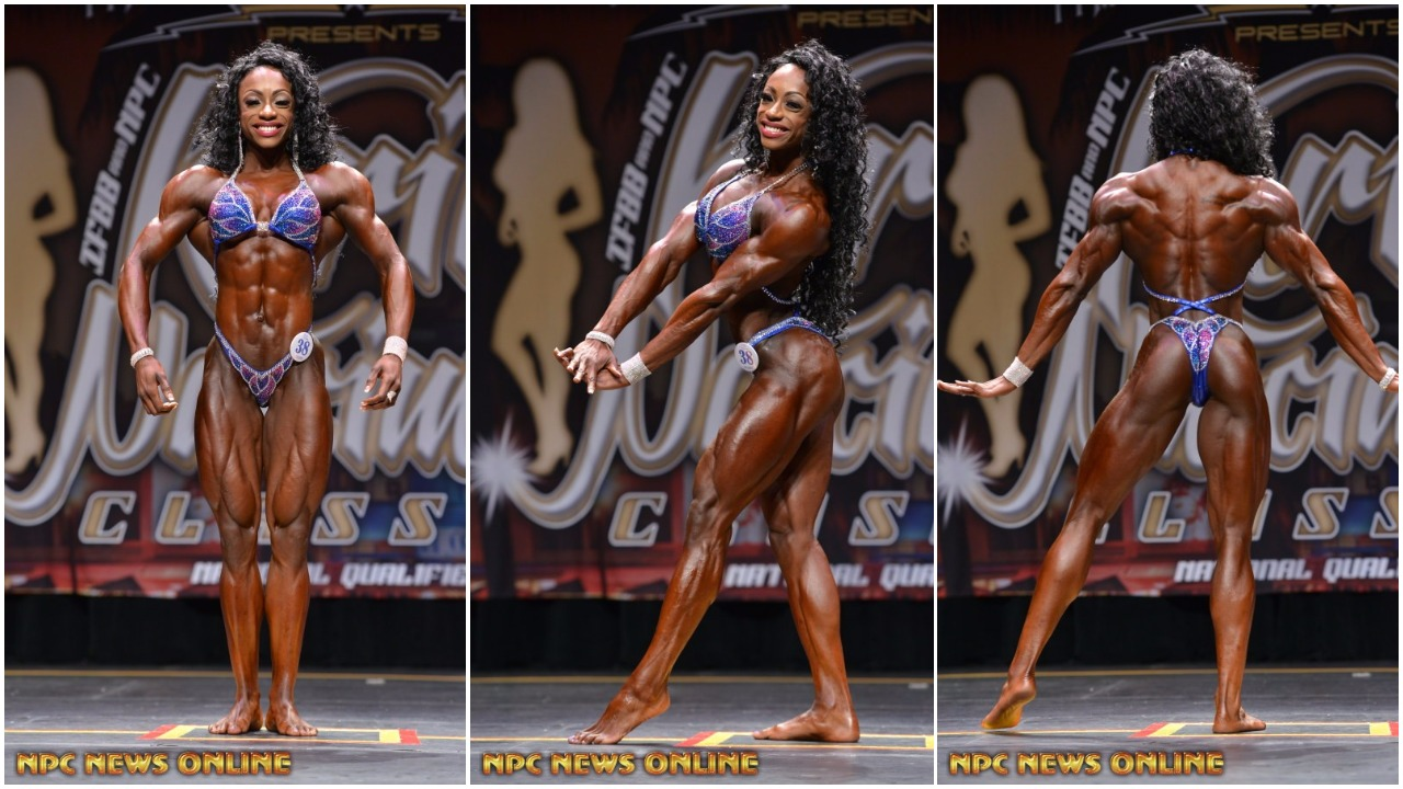 IFBB Women's Physique Pro Shanique Grant Training Tip Video