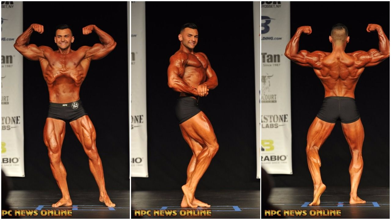 NPC Men's Classic Physique Competitor Lou Albanese Training Tip Video