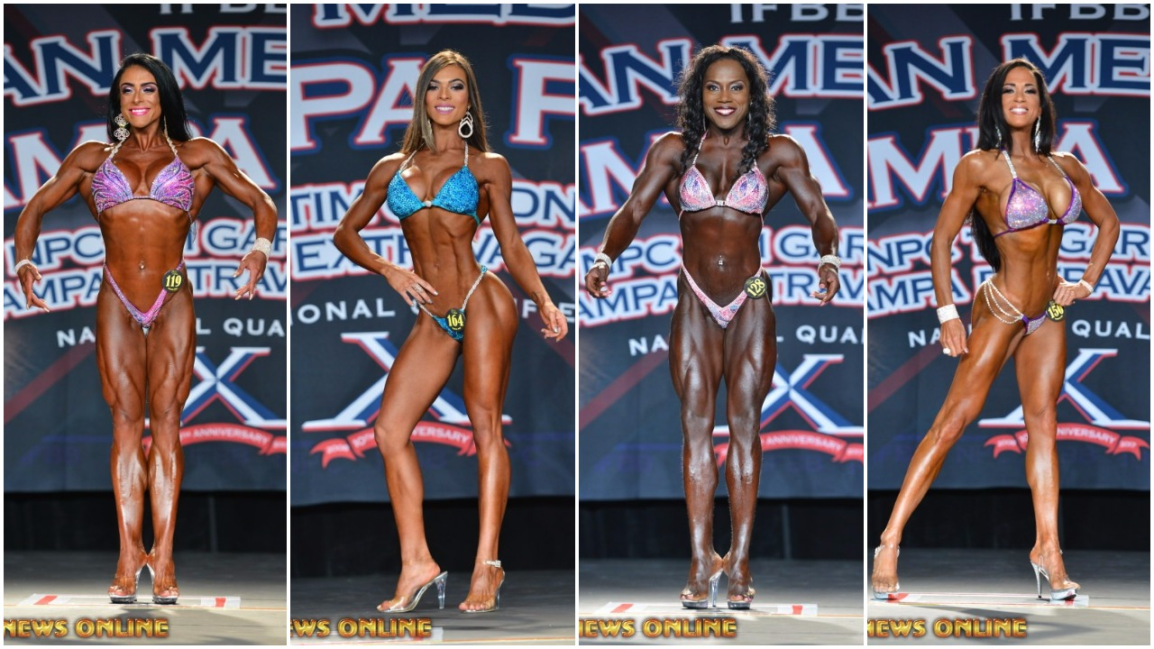 2017 IFBB TAMPA PRO SATURDAY'S WOMEN'S WINNER PHOTO GALLERY & OFFICIAL SCORES