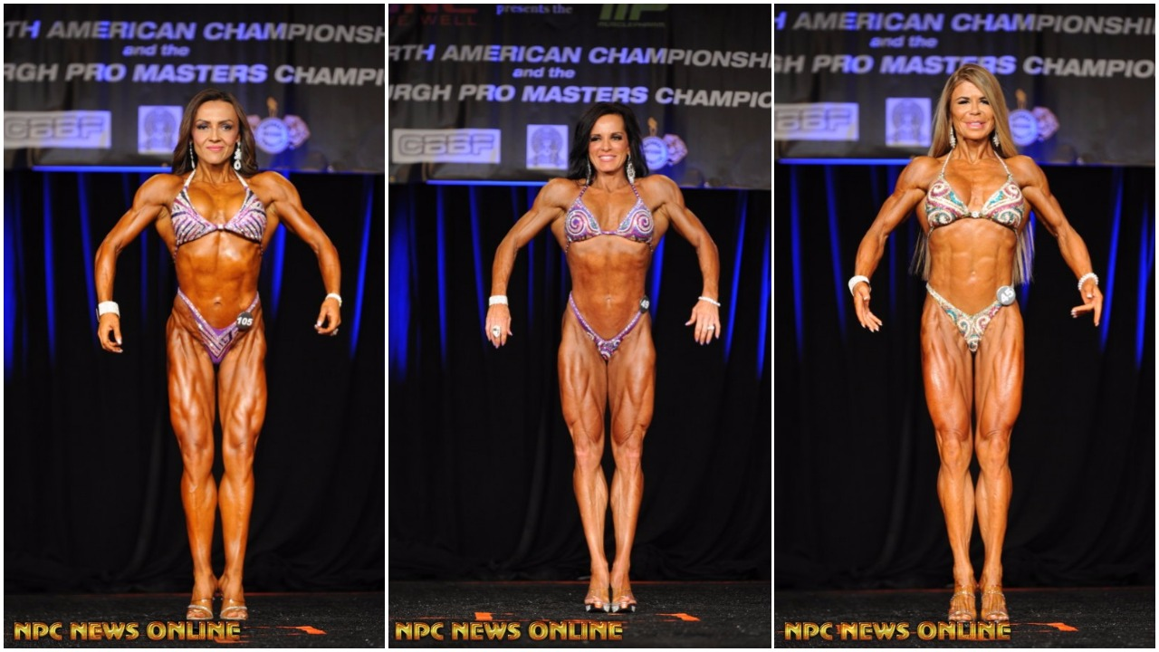 2017 IFBB PITTSBURGH PRO MASTERS FIGURE OVER 35, 45, 55 WINNER INTERVIEWS