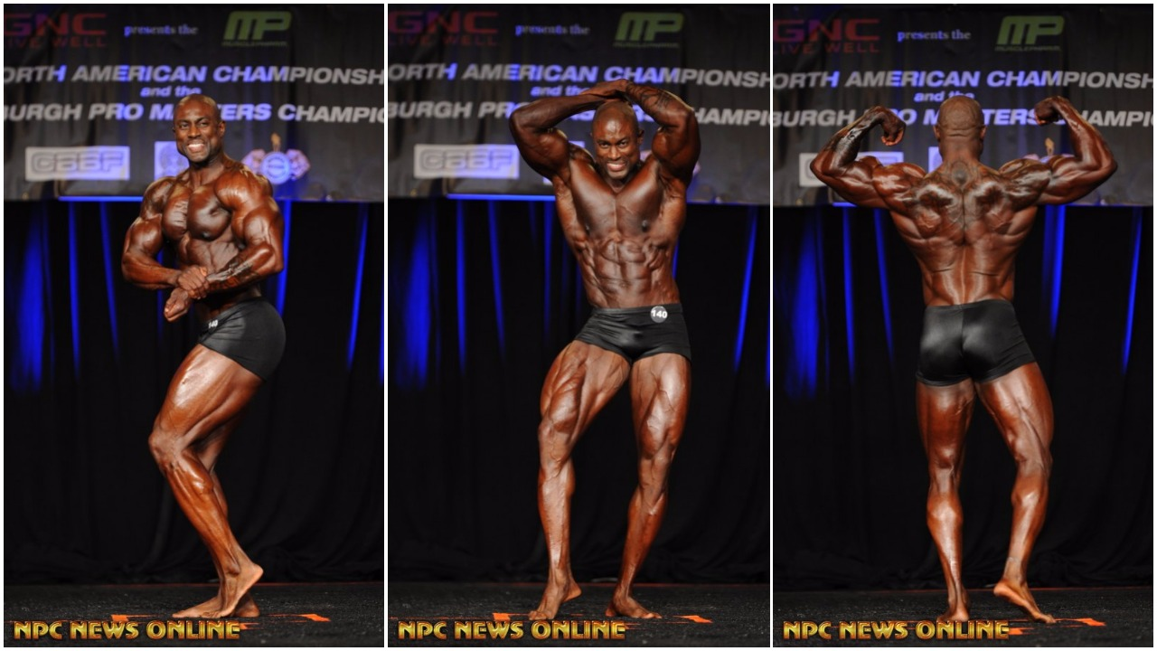 2017 IFBB PITTSBURGH PRO MASTERS MEN'S CLASSIC PHYSIQUE OVER 35 & 40 WINNER DION HARRIS INTERVIEW