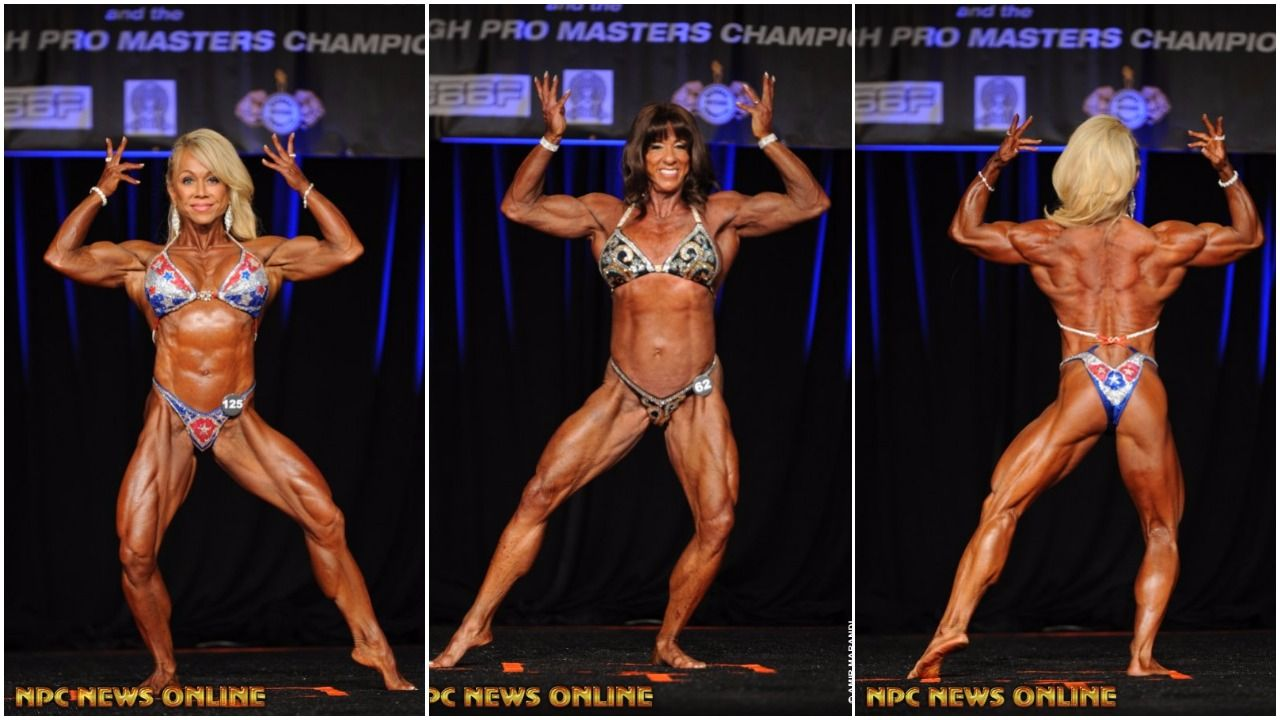 2017 IFBB PITTSBURGH PRO MASTERS WOMEN'S PHYSIQUE WINNER OVER 35, 45, 55 WINNER VIDEOS