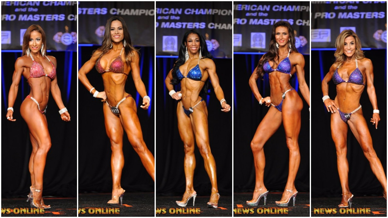 2017 IFBB North American Bikini Winner Interviews: Open, Over 35,40,45 & 50
