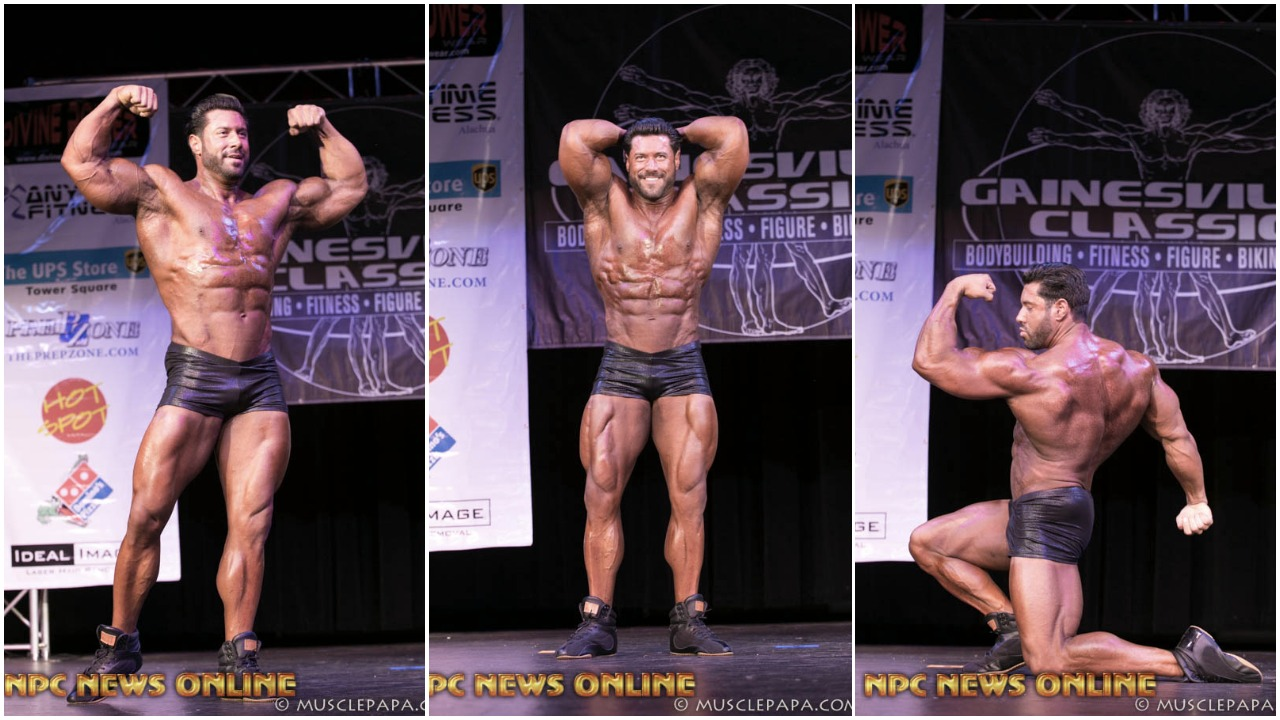 IFBB Men's Classic Pro Steve Mousharbash Guest Posing Photo Gallery At The NPC Gainesville Classic.