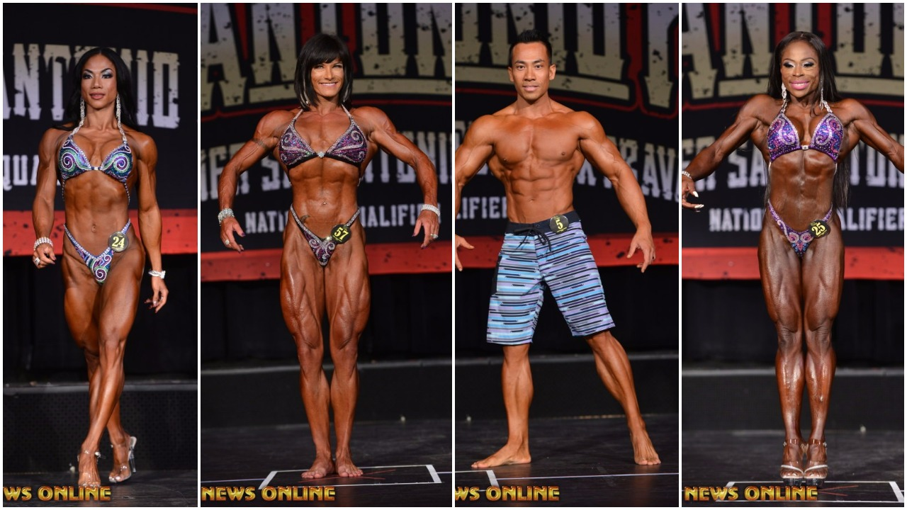 2017 IFBB SAN ANTONIO PRO WINNER GALLERIES: Women's Physique,Women's Figure,Women's Figure Masters,Men's Physique,Men's Bodybuilding