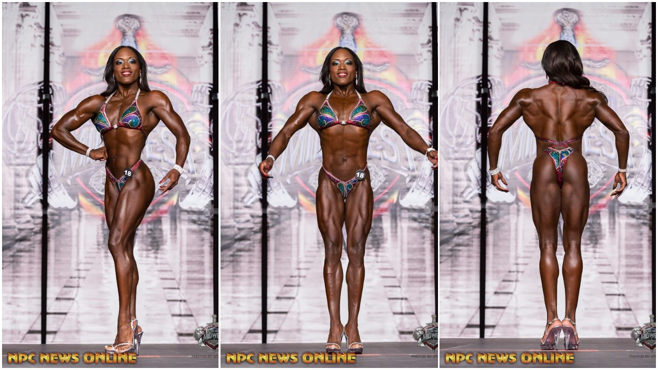 IFBB FIGURE PRO KENDYL NICOLE NUTRITION TIP VIDEO FOR COMPETITORS