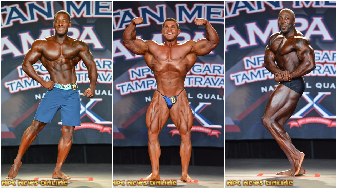 2017 IFBB TAMPA PRO FRIDAY MEN'S WINNER PHOTO GALLERY & OFFICIAL SCORES