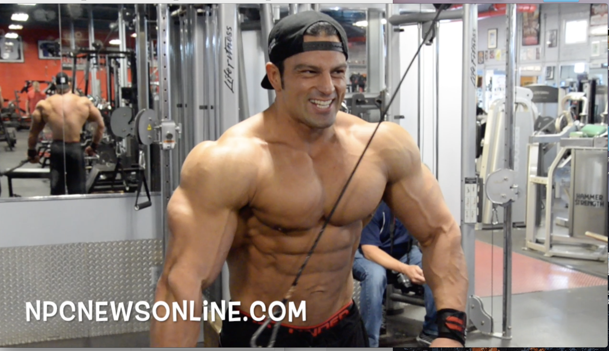 IFBB Classic Physique Pro Arash Rahbar: Arm Workout 5 1/2 weeks Out From The Mr.Olympia
