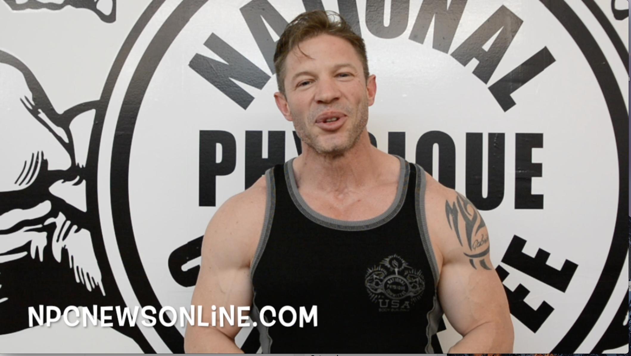 NPC Men's Physique Competitor Francisco Cardona:Tip Of The Day
