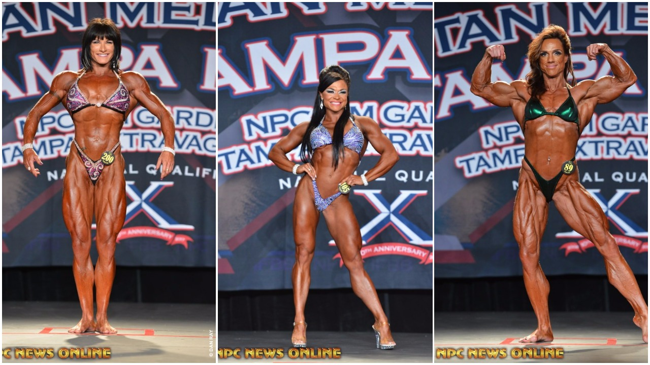2017 IFBB TAMPA PRO FRIDAY WOMEN'S WINNER PHOTO GALLERY & OFFICIAL SCORES