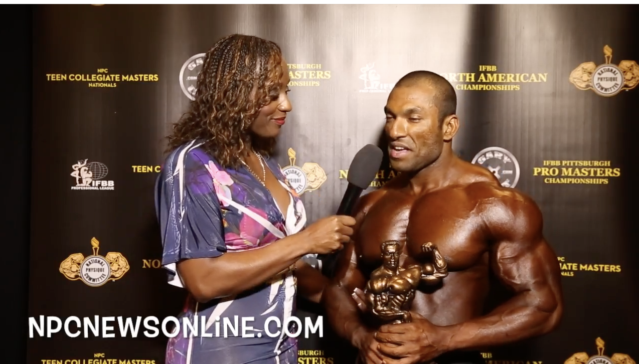 IFBB North American Men's Classic Physique Open Overall Winner Interviews: Open, Over 35 & 40, 50