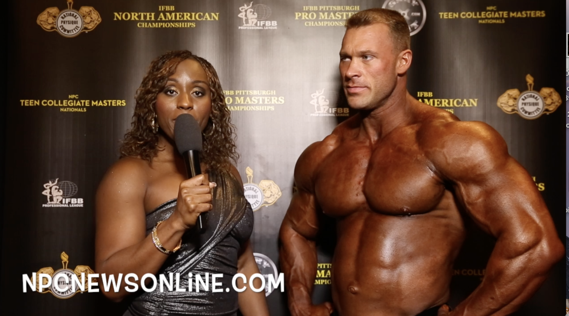 2017 IFBB North American Championships Bodybuilding Winner Interviews: Open, 0ver 35,40,50,60,70