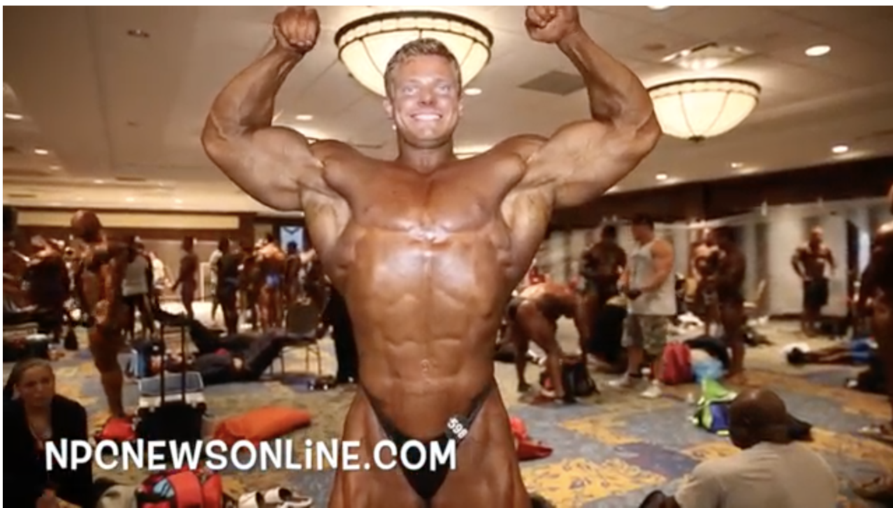 2017 IFBB North American  Bodybuilding Backstage Video Pt.2