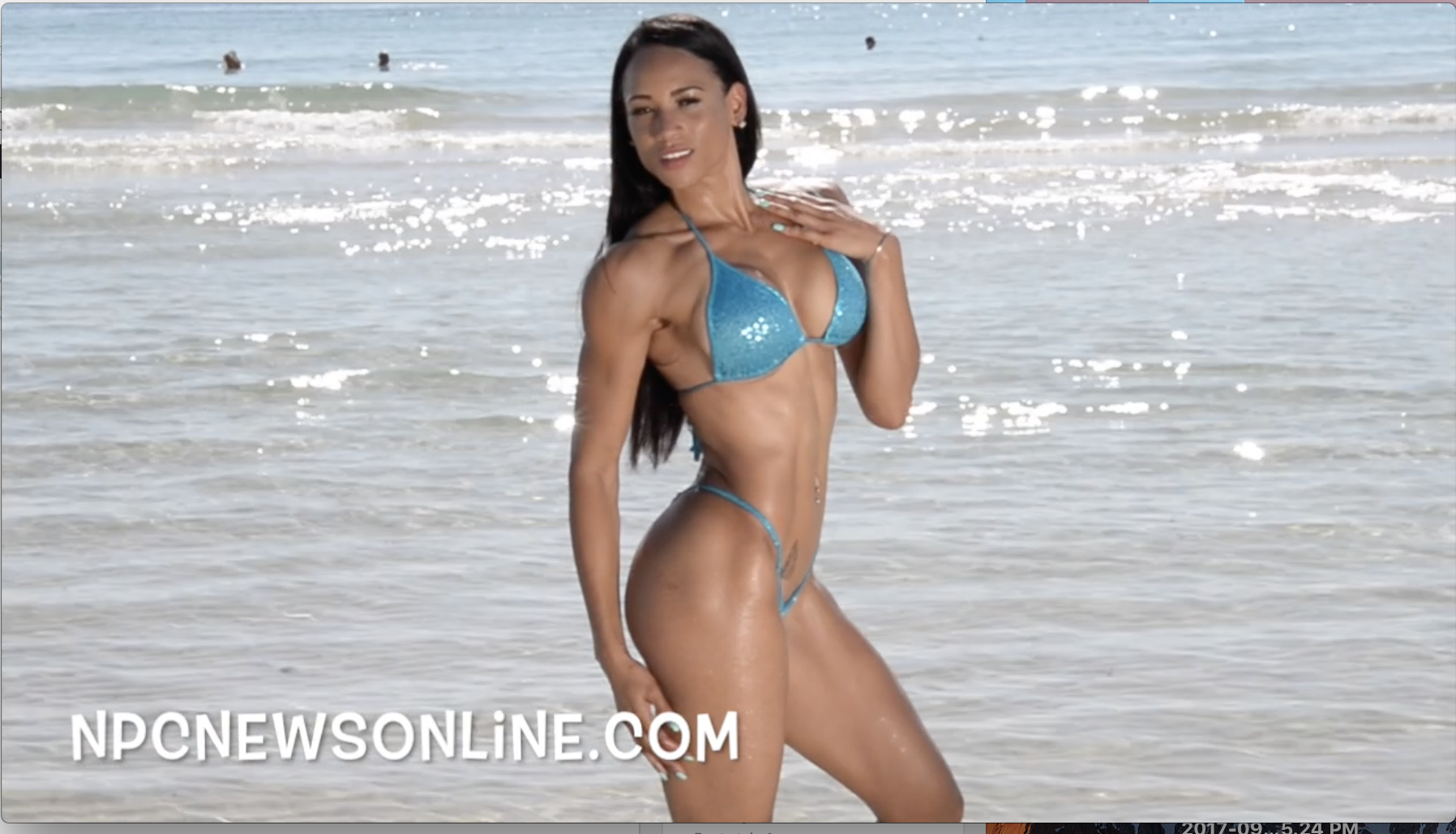 J.M. Manion South Beach Miami Shoot: Behind The Scenes Video With  IFBB Bikini Pro Asia Mendoza
